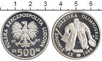 Изображение Монеты Европа Польша 500 злотых 1987 Серебро Proof