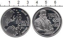 Изображение Монеты Европа Бельгия 10 евро 2006 Серебро Proof