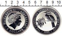 Изображение Монеты Австралия 2 доллара 2000 Серебро Proof Елизавета II. Коокаб
