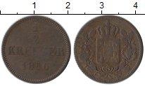 Изображение Монеты Бавария 1/2 крейцера 1856 Медь VF