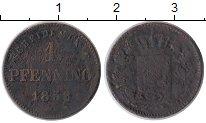 Изображение Монеты Бавария 1 пфенниг 1858 Медь VF