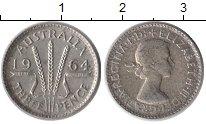 Изображение Монеты Австралия 3 пенса 1964 Серебро XF