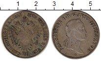 Изображение Монеты Австрия 20 крейцеров 1833 Серебро VF