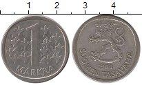 Изображение Монеты Финляндия 1 марка 1964 Медно-никель XF