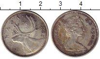 Изображение Монеты Северная Америка Канада 25 центов 1968 Серебро XF