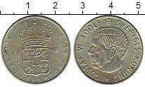 Изображение Монеты Европа Швеция 1 крона 1965 Серебро XF