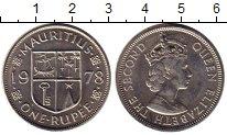 Изображение Монеты Африка Маврикий 1 рупия 1978 Медно-никель UNC-