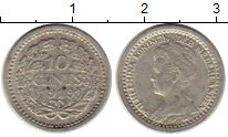 Изображение Монеты Европа Нидерланды 10 центов 1919 Серебро XF