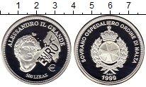 Изображение Монеты Европа Мальтийский орден 500 лир 1999 Серебро Proof