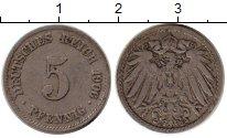 Изображение Монеты Европа Германия 5 пфеннигов 1906 Медно-никель VF