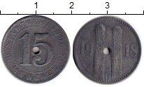 Изображение Монеты Германия : Нотгельды 15 пфеннигов 1918 Цинк XF Мюнхен