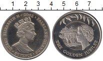 Изображение Монеты Фолклендские острова 50 пенсов 2002 Медно-никель UNC-