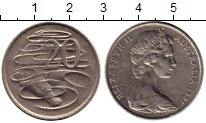 Изображение Монеты Австралия 20 центов 1981 Медно-никель XF-