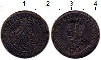 Изображение Монеты Африка ЮАР 1/4 пенни 1928 Бронза XF
