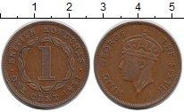 Изображение Монеты Белиз 1 цент 1951 Медь XF-