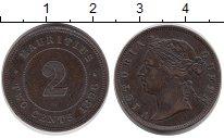 Изображение Монеты Маврикий 2 цента 1896 Бронза XF