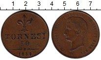 Изображение Монеты Италия 10 торнеси 1859 Медь VF