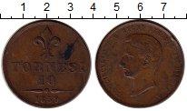 Изображение Монеты Италия 10 торнеси 1859 Медь XF-