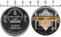 Изображение Монеты Монголия 500 тугриков 2008 Серебро Proof-