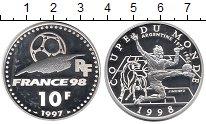 Изображение Монеты Европа Франция 10 франков 1997 Серебро Proof-
