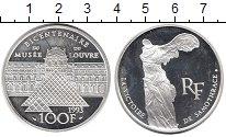 Изображение Монеты Европа Франция 100 франков 1993 Серебро Proof-