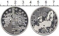 Изображение Монеты Европа Франция 1 1/2 евро 2004 Серебро Proof