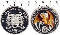 Изображение Монеты Бенин 1000 франков 2014 Серебро Proof