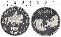 Изображение Монеты Европа Болгария 10000 лев 1998 Серебро Proof-