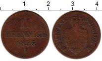 Изображение Монеты Германия Саксен-Альтенбург 2 пфеннига 1856 Медь VF
