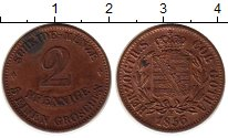 Изображение Монеты Германия Саксе-Кобург-Гота 2 пфеннига 1856 Медь XF