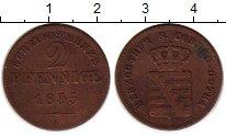Изображение Монеты Германия Саксе-Кобург-Гота 2 пфеннига 1835 Медь XF-