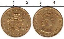 Изображение Монеты Северная Америка Ямайка 1/2 пенни 1964 Латунь UNC-