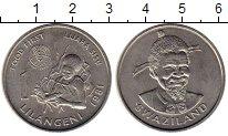 Изображение Монеты Африка Свазиленд 1 лилангени 1981 Медно-никель UNC-