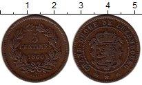 Изображение Монеты Люксембург 5 сантим 1860 Медь XF-