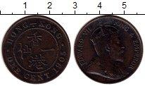 Изображение Монеты Гонконг 1 цент 1905 Бронза XF- Эдуард VII