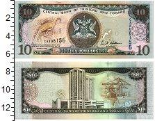 Изображение Банкноты Тринидад и Тобаго 10 долларов 2006  UNC