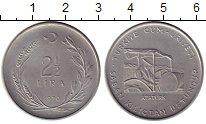 Изображение Монеты Азия Турция 2 1/2 лиры 1970 Медно-никель XF
