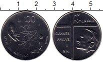 Изображение Монеты Европа Ватикан 100 лир 1983 Медно-никель UNC