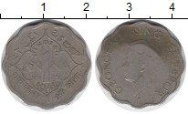Изображение Монеты Азия Индия 1 анна 1946 Медно-никель VF