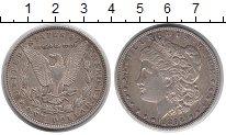 Изображение Монеты Северная Америка США 1 доллар 1896 Серебро XF-