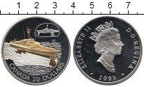 Изображение Монеты Канада 20 долларов 2003 Серебро Proof