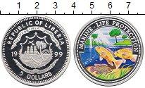 Изображение Монеты Либерия 5 долларов 1999 Серебро Proof