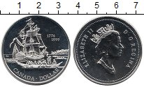 Изображение Монеты Северная Америка Канада 1 доллар 1999 Серебро UNC