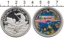 Изображение Монеты Палау 5 долларов 1993 Серебро Proof