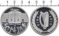 Изображение Монеты Ирландия 10 евро 2010 Серебро Proof