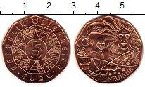 Изображение Монеты Австрия 5 евро 2014 Медь UNC Новый год