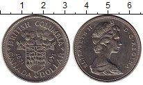 Изображение Монеты Северная Америка Канада 1 доллар 1971 Медно-никель UNC-