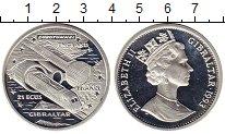 Изображение Монеты Великобритания Гибралтар 21 экю 1993 Серебро Proof-
