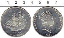 Изображение Монеты Острова Кука 1 доллар 2009 Серебро UNC-