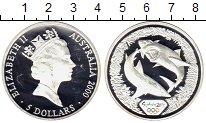 Изображение Монеты Австралия 5 долларов 2000 Серебро Proof- Олимпийские игры, ак